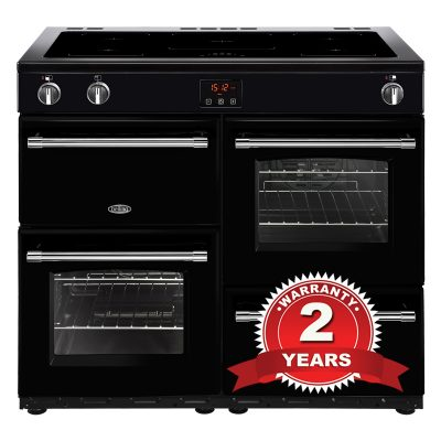 Belling 100EiBK 100cm Induction Range Cooker