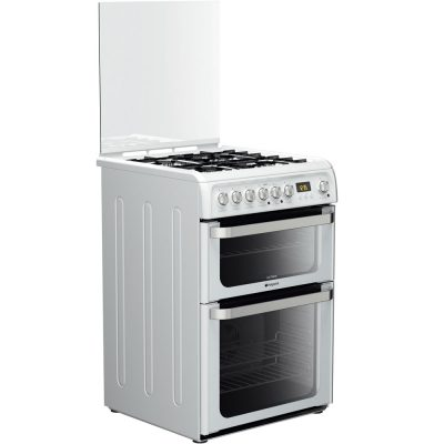 Hotpoint HUD61PS Dual Fuel Cooker