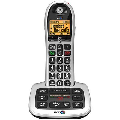 bt4600 big button cordless telephone