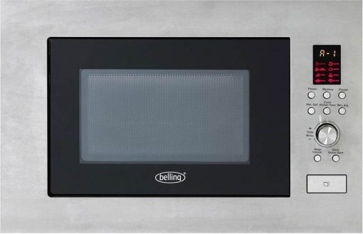 Belling BIM60STA 23L Stainless Steel Integrated Microwave
