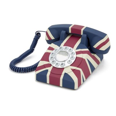 GPO Union Jack Corded Telephone