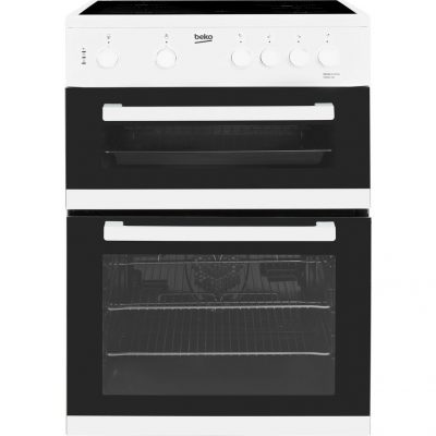 BEKO KDC611W 60cm Electric Ceramic Cooker