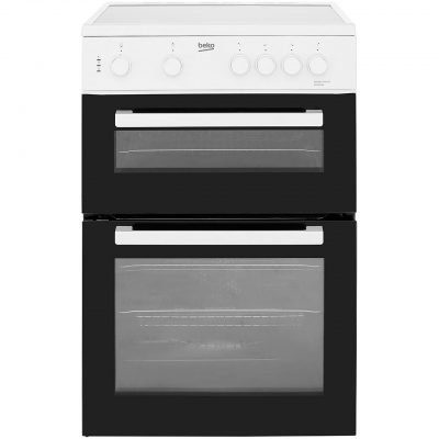 Beko KTC611W 60cm Electric Cooker