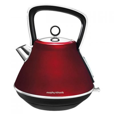 Morphy Richards Red Evoke Pyramid Kettle