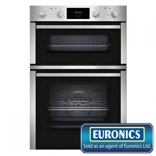 NEFF U1DCC1BN0B Built In Double Electric Oven